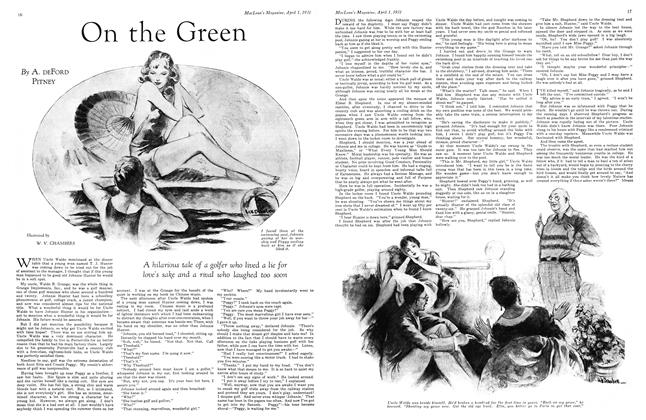 Article Preview: On the Green, April 1931 | Maclean's
