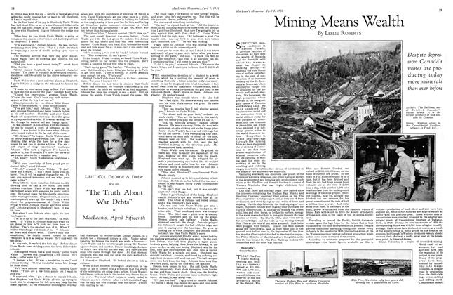 Article Preview: Mining Means Wealth, April 1931 | Maclean's