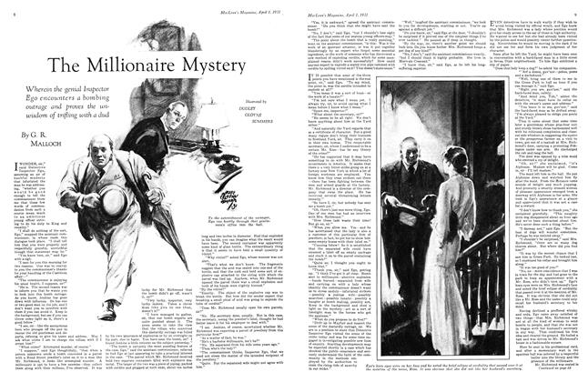Article Preview: The Millionaire Mystery, April 1931 | Maclean's