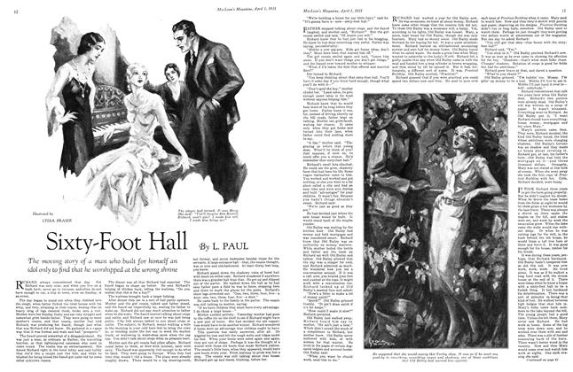 Article Preview: Sixty-Foot Hall, April 1931 | Maclean's