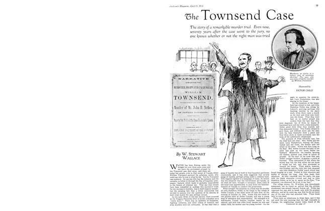 Article Preview: The Townsend Case, April 15th 1931 1931 | Maclean's