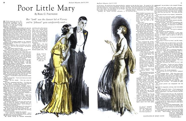Article Preview: Poor Little Mary, April 15th 1931 1931 | Maclean's