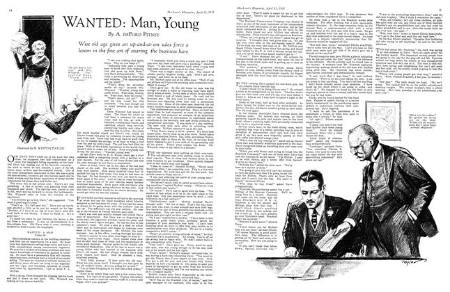 Article Preview: WANTED: Man, Young, April 15th 1931 1931 | Maclean's