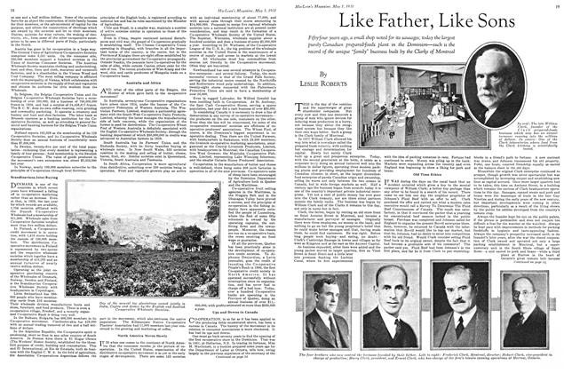 Article Preview: Like Father, Like Sons, May 1st 1931 1931 | Maclean's