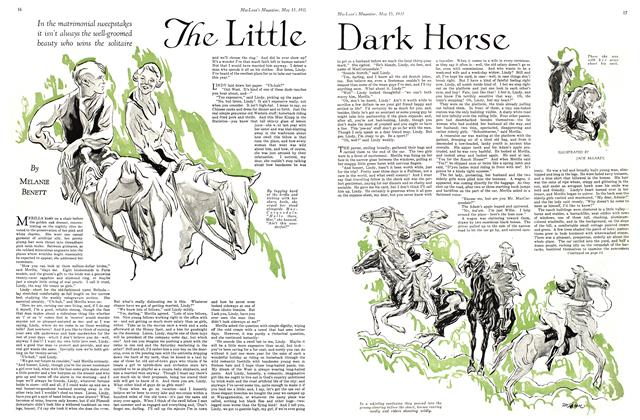 Article Preview: The Little Dark Horse, May 15th 1931 1931 | Maclean's