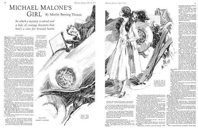 Article Preview: MICHAEL MALONE'S GIRL, May 15th 1931 1931 | Maclean's