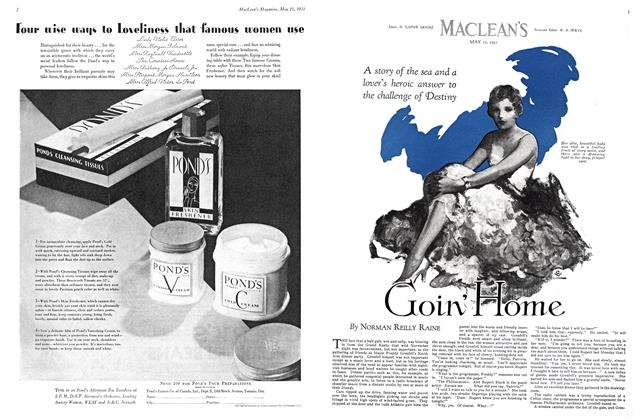 Article Preview: Goin' Home, May 15th 1931 1931 | Maclean's