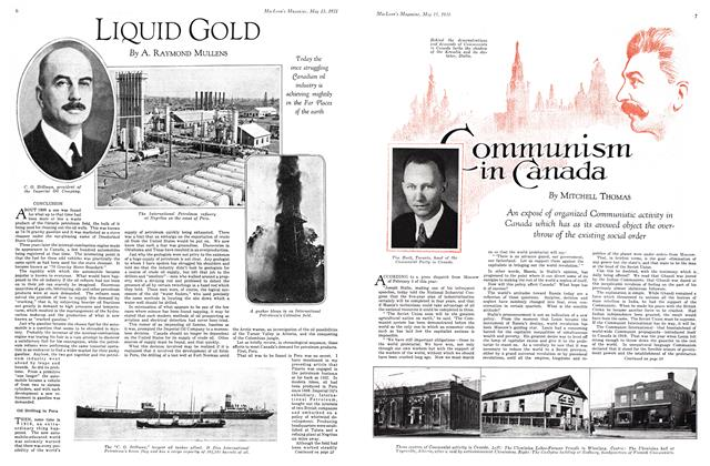 Article Preview: Communism in Canada, May 15th 1931 1931 | Maclean's