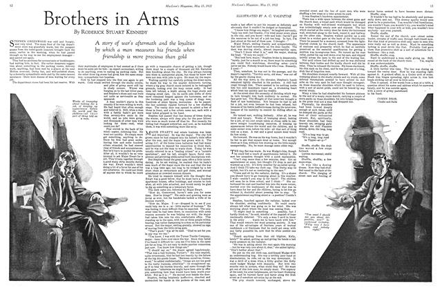 Article Preview: Brothers in Arms, May 15th 1931 1931 | Maclean's