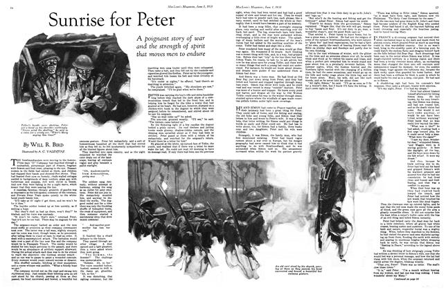 Article Preview: Sunrise for Peter, June 1931 | Maclean's