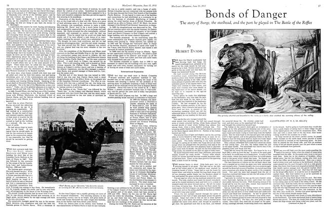Article Preview: Bonds of Danger, June 1931 | Maclean's