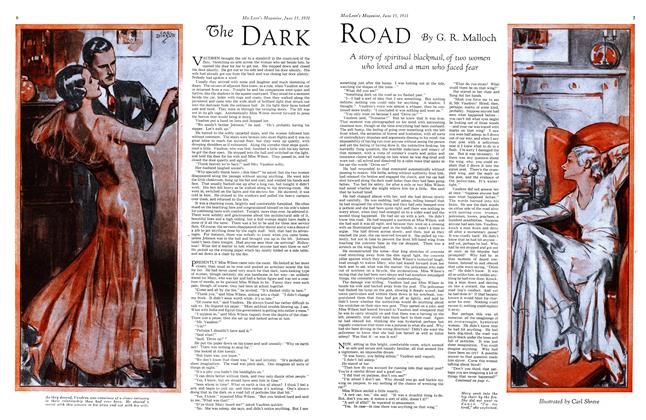 Article Preview: The DARK ROAD, June 1931 | Maclean's