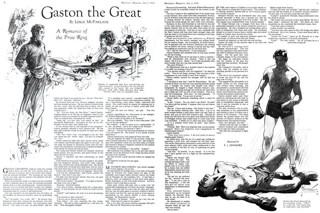 Article Preview: Gaston the Great, July 1931 | Maclean's