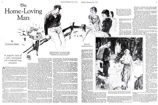 Article Preview: The Home-Loving Man, July 1931 | Maclean's