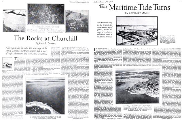 Article Preview: The Maritime Tide Turns, July 1931 | Maclean's