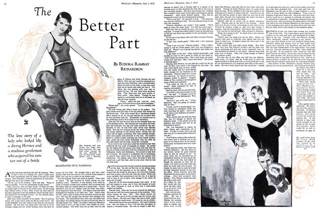Article Preview: The Better Part, July 1931 | Maclean's
