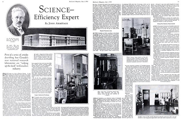 Article Preview: SCIENCE— Efficiency Expert, July 1931 | Maclean's