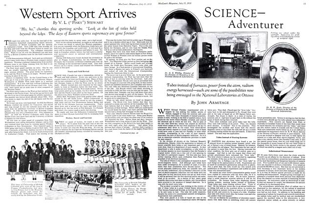 Article Preview: SCIENCE Adventurer, July 1931 | Maclean's