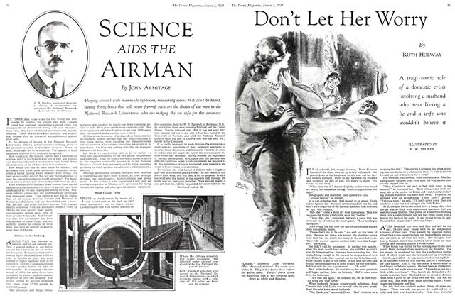 Article Preview: Don't Let Her Worry, August 1931 | Maclean's