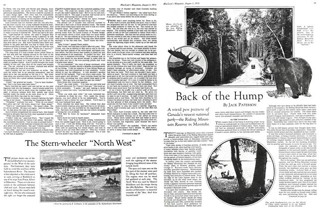 Article Preview: Back of the Hump, August 1931 | Maclean's