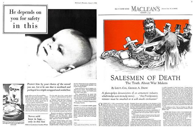 Article Preview: SALESMEN OF DEATH, August 1931 | Maclean's