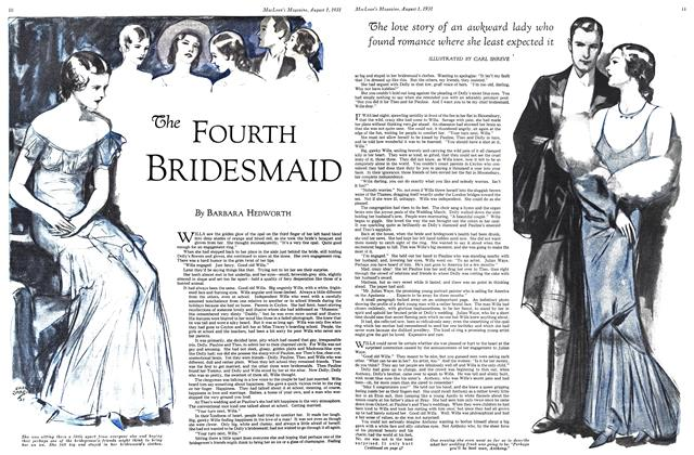 Article Preview: The FOURTH BRIDESMAID, August 1931 | Maclean's