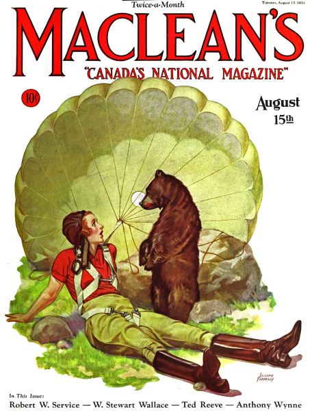 Issue: - August 1931   Maclean's