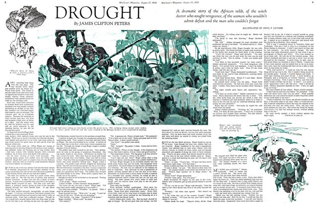 Article Preview: DROUGHT, August 1931 | Maclean's