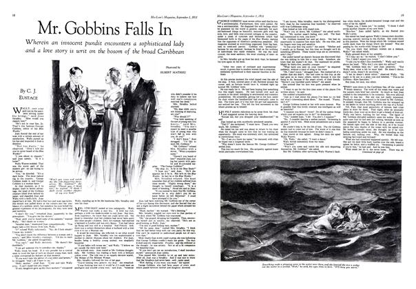 Article Preview: Mr. Gobbins Falls In, September 1st 1931 1931 | Maclean's
