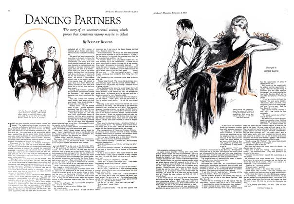 Article Preview: DANCING PARTNERS, September 1st 1931 1931 | Maclean's