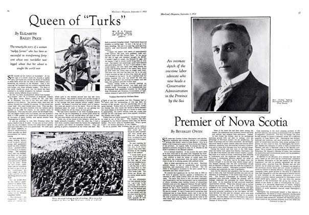 "Article Preview: Queen of ""Turks"", September 1st 1931 1931 