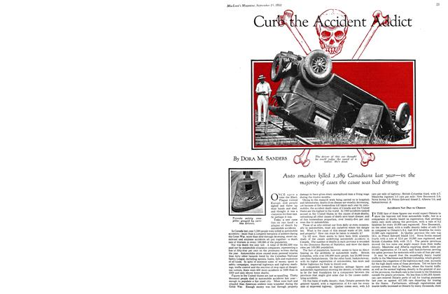Article Preview: Curb the Accident Addict, September 1931 | Maclean's