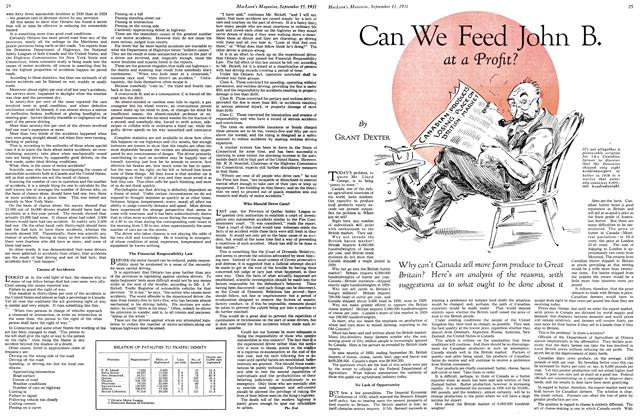 Article Preview: Can We Feed John B. at a Profit?, September 1931 | Maclean's