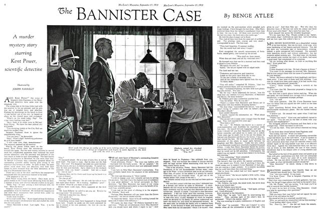 Article Preview: The BANNISTER CASE, September 1931 | Maclean's
