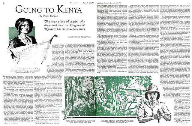 Article Preview: GOING TO KENYA, September 1931 | Maclean's