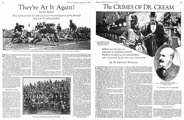 Article Preview: The CRIMES OF DR. CREAM, September 1931 | Maclean's