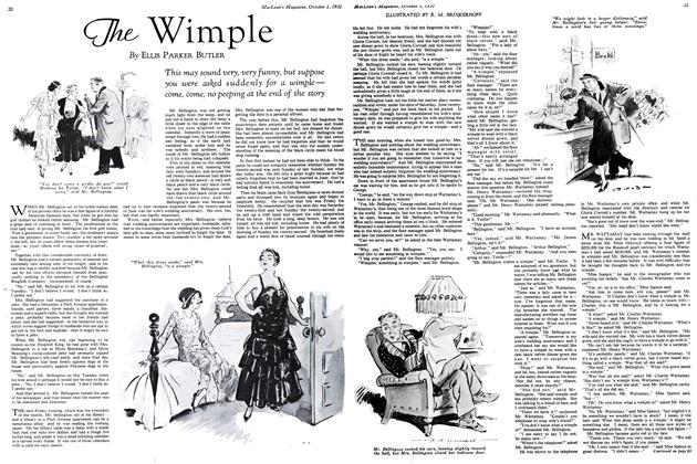 Article Preview: The Wimple, October 1931   Maclean's
