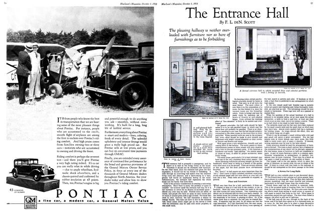Article Preview: The Entrance Hall, October 1931 | Maclean's