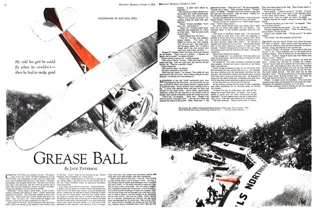 Article Preview: GREASE BALL, October 1931 | Maclean's
