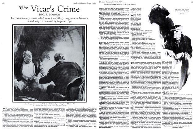 Article Preview: The Vicar's Crime, October 1931 | Maclean's