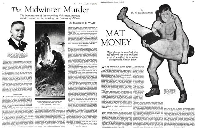 Article Preview: The Midwinter Murder, October 15th 1931 1931 | Maclean's