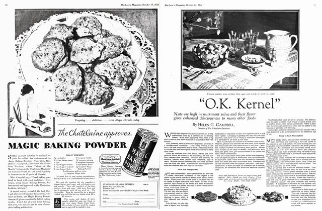 """Article Preview: """"O.K. Kernel"""", October 15th 1931 1931 