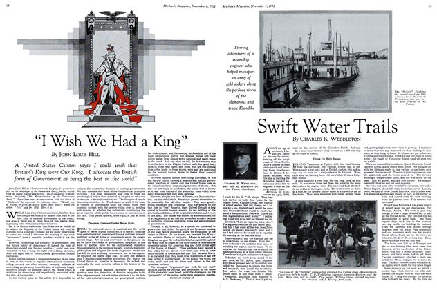 Article Preview: Swift Water Trails, November 1st 1931 1931 | Maclean's