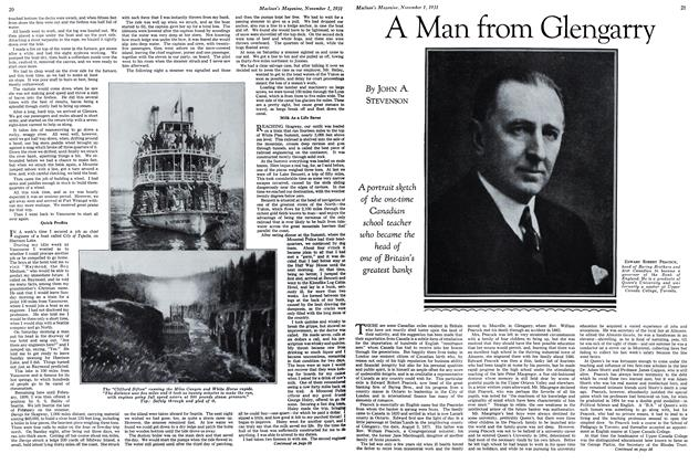 Article Preview: A Man from Glengarry, November 1st 1931 1931 | Maclean's
