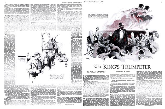 Article Preview: The KING'S TRUMPETER, November 1st 1931 1931 | Maclean's