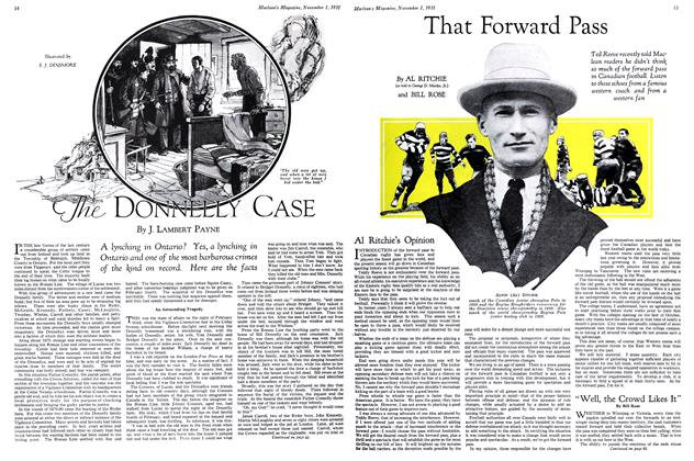 Article Preview: The DONNELLY CASE, November 1st 1931 1931 | Maclean's