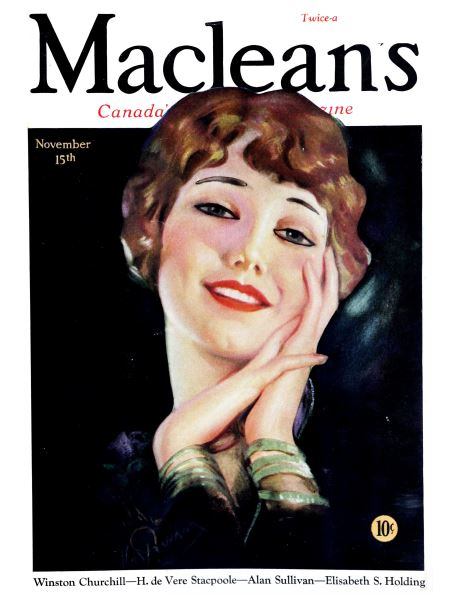 Issue: - November 15th 1931   Maclean's