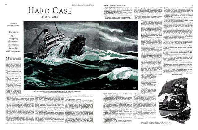 Article Preview: HARD CASE, November 15th 1931 1931 | Maclean's