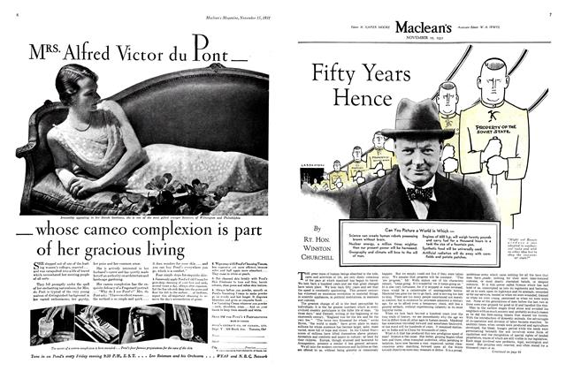Article Preview: Fifty Years Hence, November 15th 1931 1931 | Maclean's