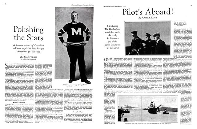 Article Preview: Pilot's Aboard!, November 15th 1931 1931 | Maclean's